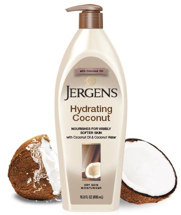 Jergens Hydrating Coconut Dry Skin Moisturiser 650ml body lotion