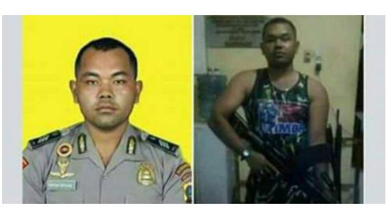 Beredar Foto Bekas Anggota Polri Mirip Pelaku Bom Kampung Melayu, Begini Kata Polisi