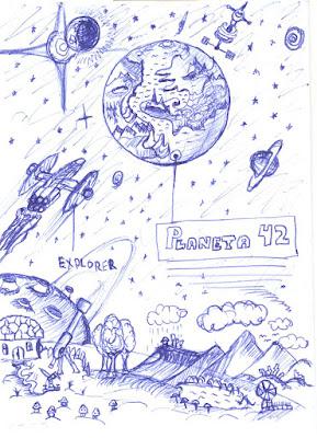 Exciting Views of Planeta 42