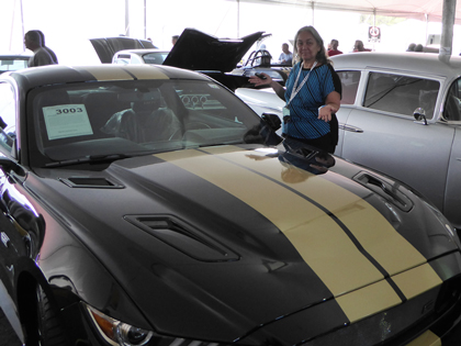 NASCAR Race Mom can corroborate to the fact that this car is a beauty!