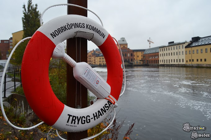 """Norrköping - """"uroki"""" szwedzkiej jesieni"""