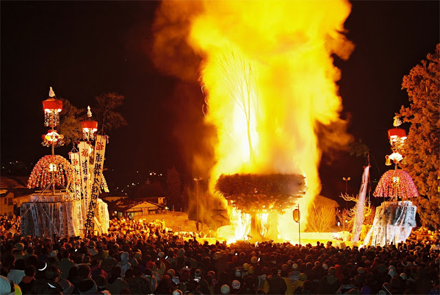 Guardians Festival at Nozawa Hot Springs, Nagano pref.