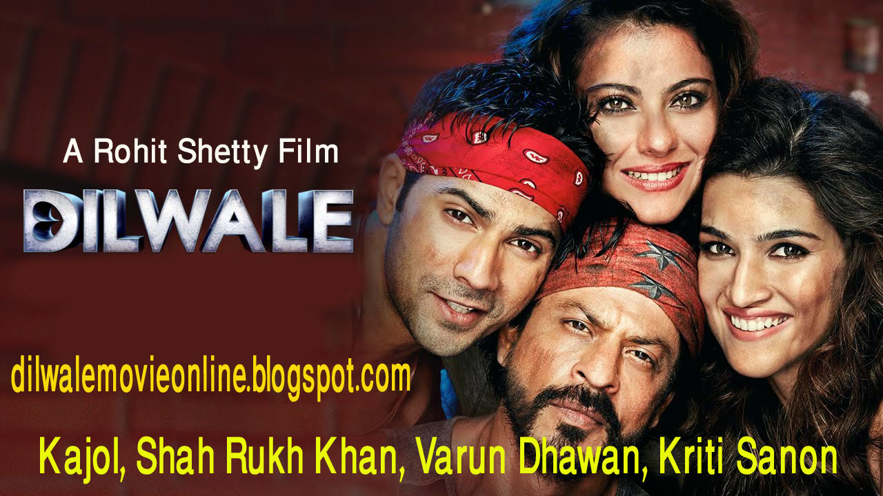 Dilwale (2015) Bollywood Hindi Movie Mp3 Songs 128kbps