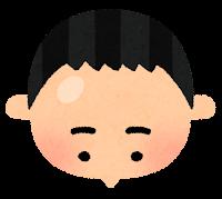 薄毛のイラスト3
