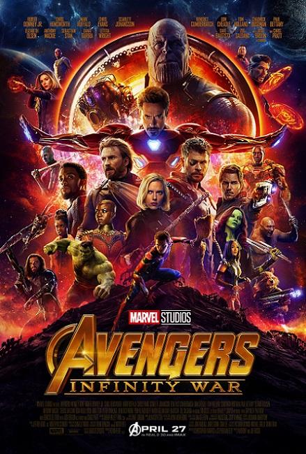 Avengers: Infinity War (2018) 720p y 1080p WEBRip mkv Dual Audio AC3 5.1 ch