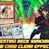 Testing Synchron New Card Clear Effector