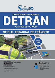 "Apostilas do Detran : ""Oficial Estadual de Trânsito"" e ""Agente Estadual de Trânsito"" neste (09/04) na Banca Vanildo"