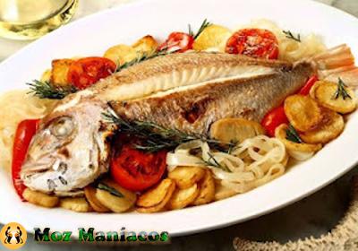 Peixe grelhado