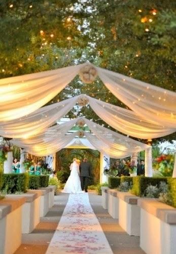 Useful Outdoor Wedding Ideas