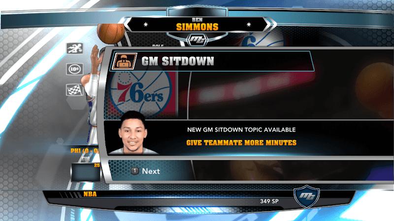 NBA 2k14 MyCareer Mod : Ben Simmons - hoopsvilla