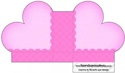 Caja abierta en forma de corazón de Corazones Rosa.