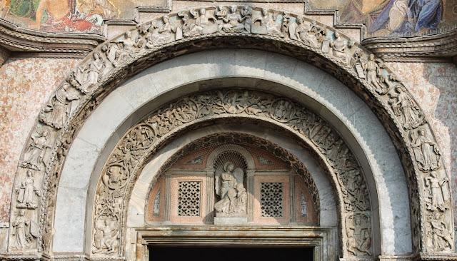 Central arch, Basilica San Marco, Venice