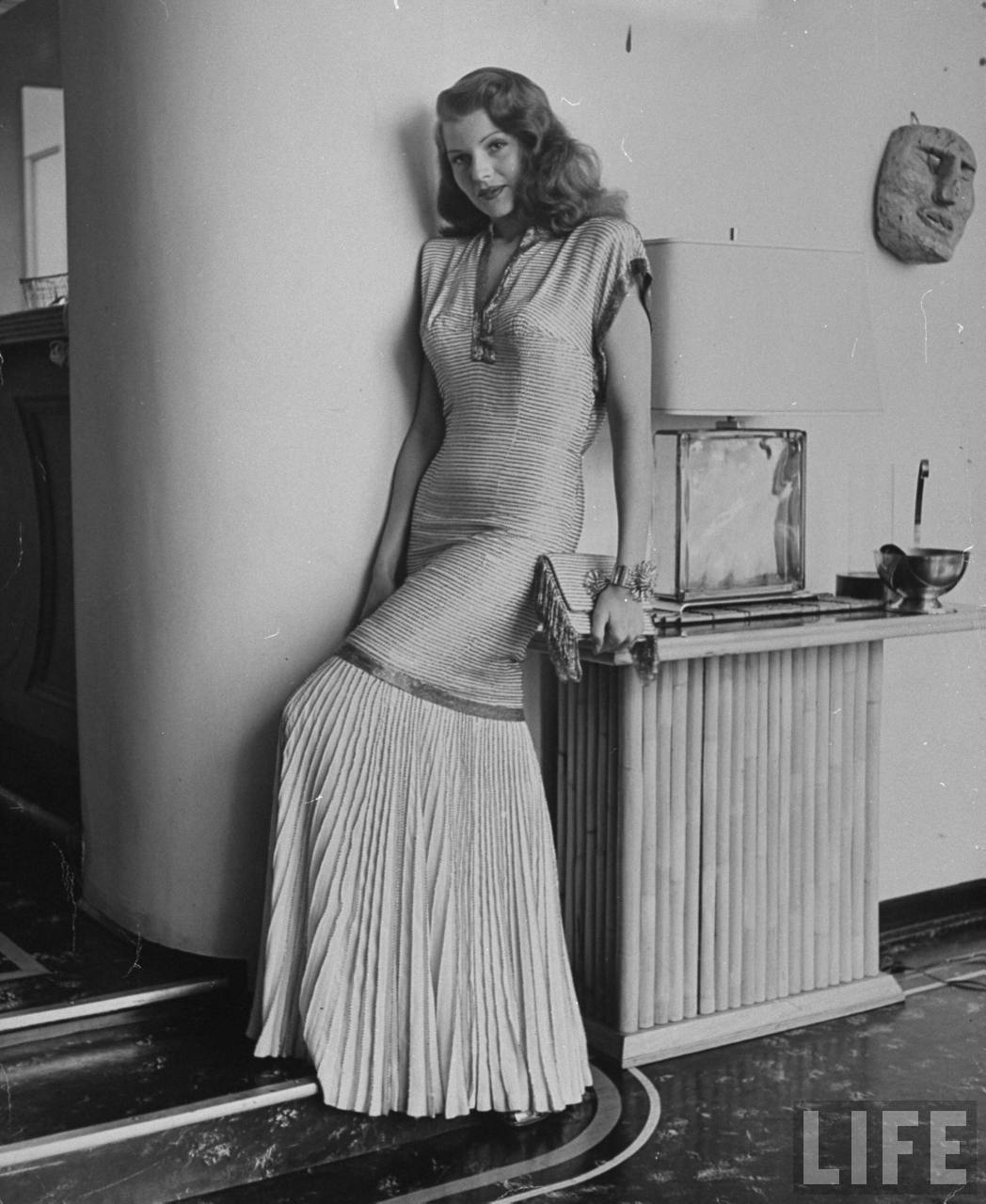 Fashionable Forties: Evening Gowns