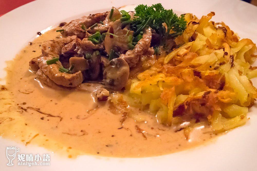 【琉森美食推薦】Restaurant Fristschi。超齊全中文菜單點餐必吃小牛肉