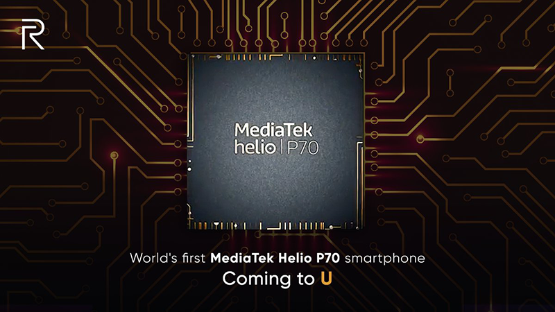 Realme to launch the world's first Helio P70 powered smartphone!