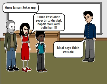perbedaan guru murid jaman now vs jaman old