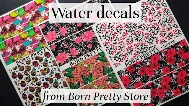 Review of water decals by Born Pretty Store | polilish