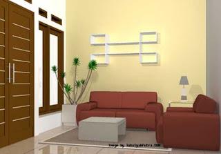 contoh ruang tamu minimalis mewah