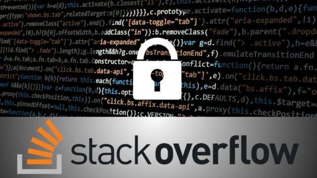 Hacker invade site stackoverflow