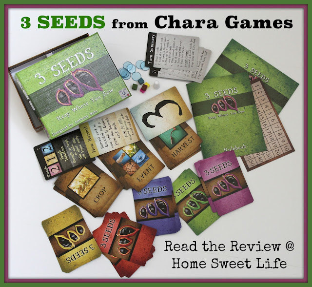 3 Seeds, Chara Games, Christian Card Games, 2-5 player card games