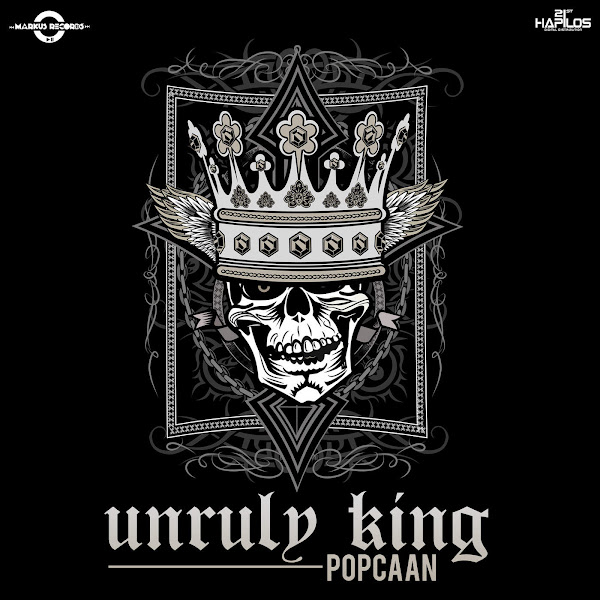 Popcaan - Unruly King - Single Cover