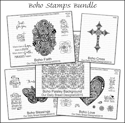 Our Daily Bread Designs Boho Stamps Bundle