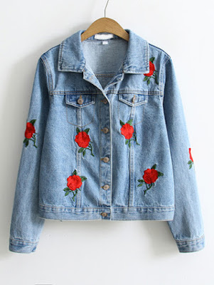 http://www.shein.com/Rose-Embroidery-Single-Breasted-Denim-Jacket-p-309945-cat-1776.html?utm_source=caprichadissimas.blogspot.com.br&utm_medium=blogger&url_from=caprichadissimas