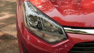 Toyota Wigo ngoại thất hiện đại