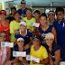 Premian a ganadoras del Torneo de Tenis Doble Femenil del Club Libanés