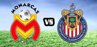 Morelia vs Guadalajara