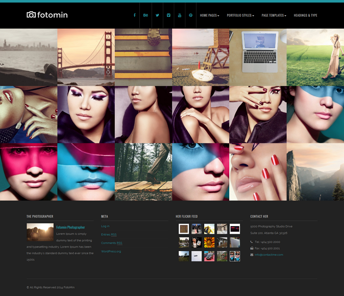 Best Responsive Photography Theme