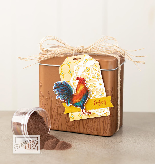 Stampin' Up! Saleabration Home to Roost