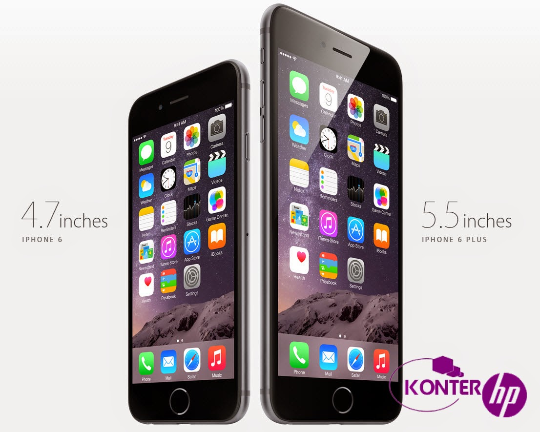 Harga dan Spesifikasi Apple iPhone 6 Plus