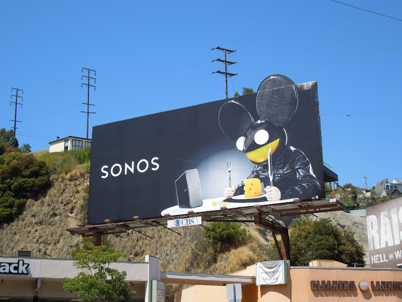 Deadmau5 Sonos special extension billboard