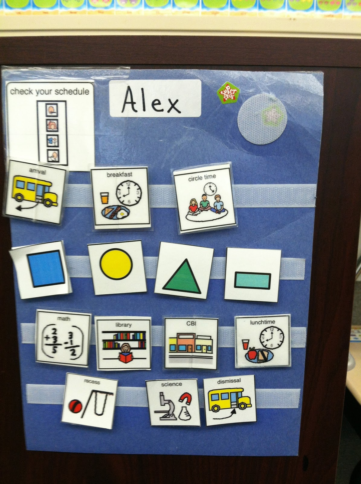 The Autism Classroom Project Visual Schedules