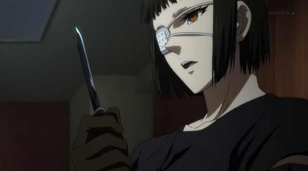 Karakter Anime Pengguna Pisau - Sofia Valmer