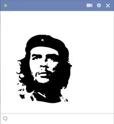 Che Guevara Emoticon For Facebook