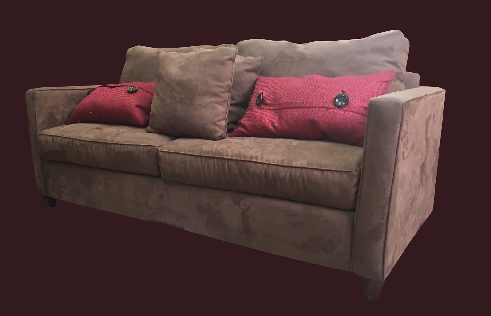 how to clean stains from a microfiber sofa ikea sleeper solsta couch in