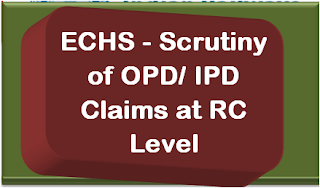 echs-scrutiny-of-opd-ipd-claims-at-rc-level
