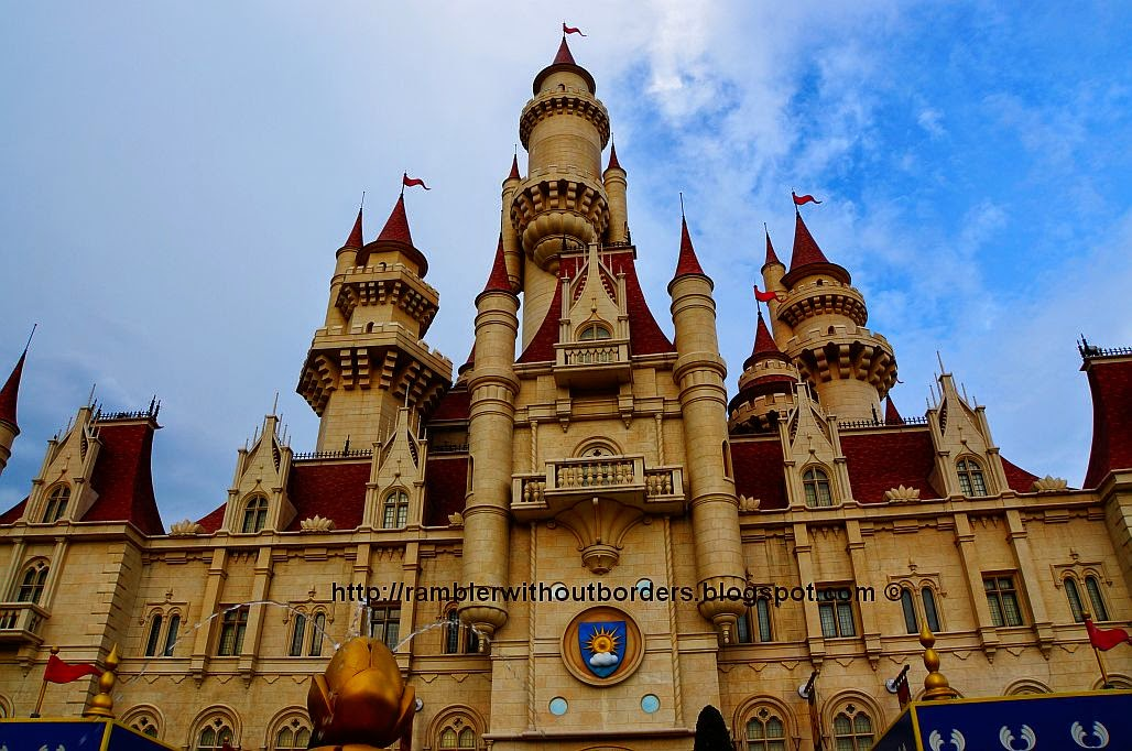 Far Far Away Castle, Universal Studios Singapore