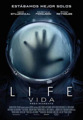 Cartel oficial español: Life: Vida