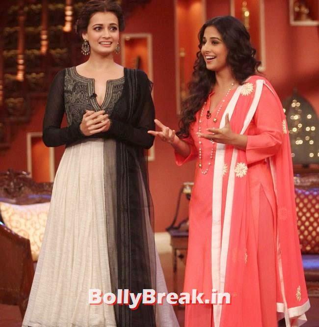 Dia Mirza and Vidya Balan, Vidya Balan, Dia Mirza Pics from Comedy Nights With Kapil