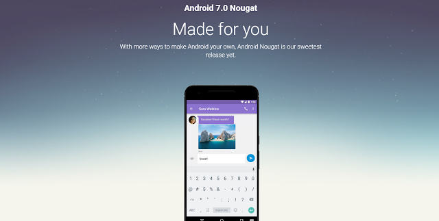 android-nougat-website