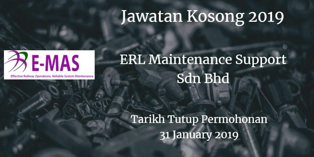 Jawatan Kosong E-MAS 31 January  2019
