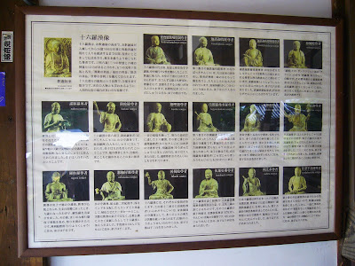 野崎観音 のざきまいり 十六羅漢(じゅうろくらかん)
