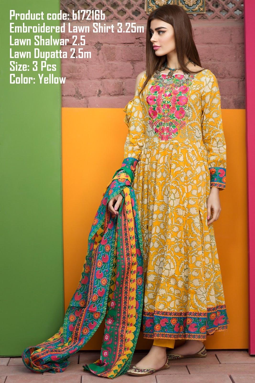 Pakistani Suits Wholesaler Delhi India: Khaadi Spring