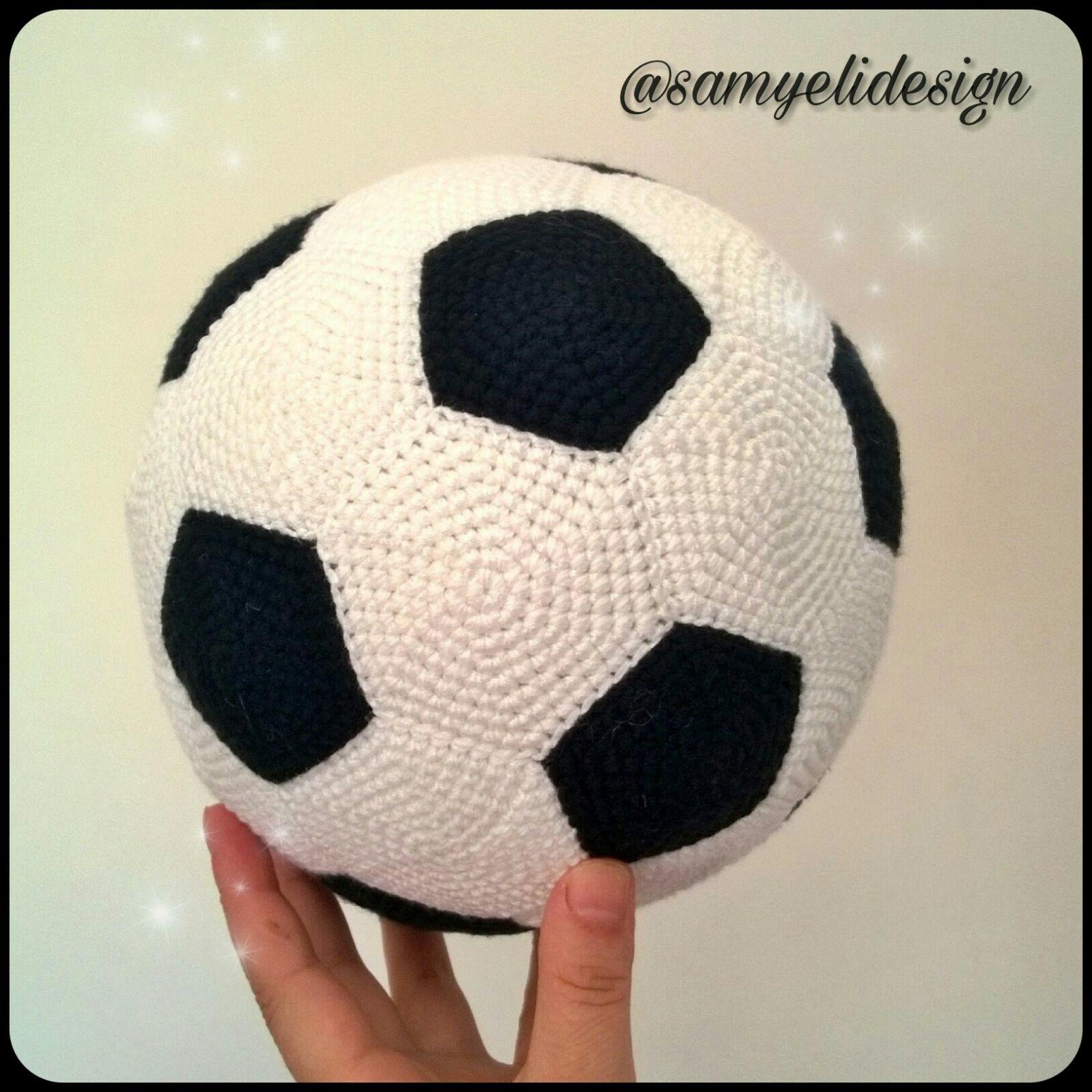 Amigurumi Futbol Topu Yapılışı