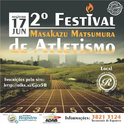 2º Festival de Atletismo Masakazu Matsumura em Registro-SP