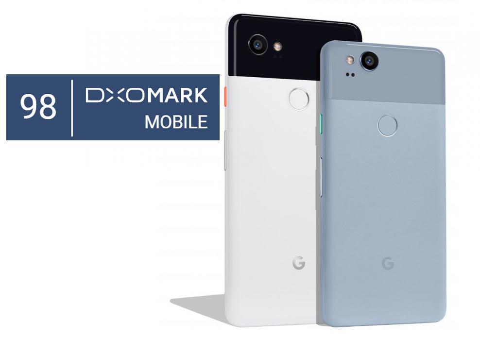 Google Pixel 2 набрал 98 баллов в рейтинге DxO