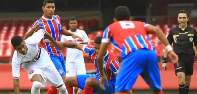 Resultado de imagem para Bahia x São Paulo sub 20